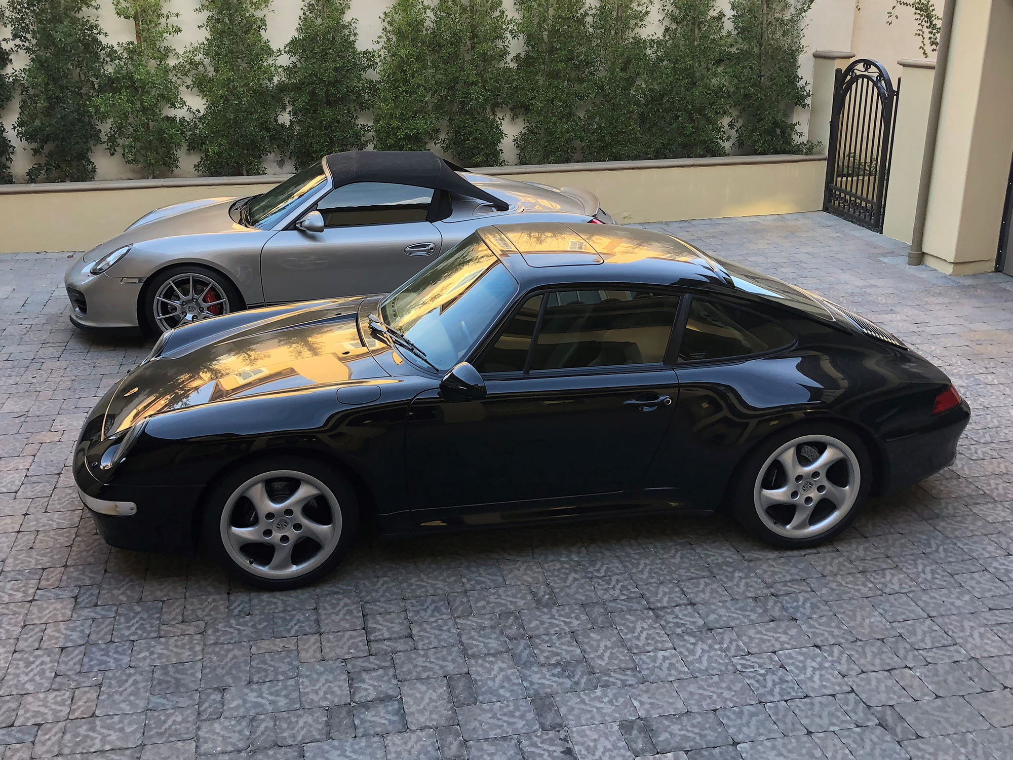 1997 Porsche 911 Carrera S Coupe in Black