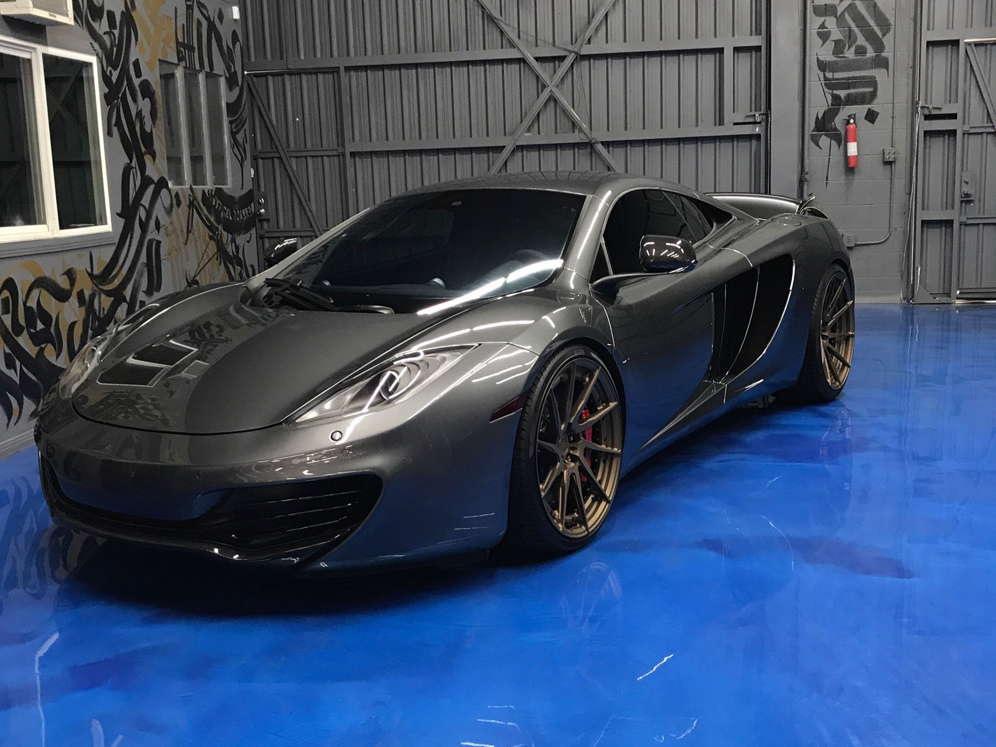2012 McLaren MP4-12C in Graphite Grey