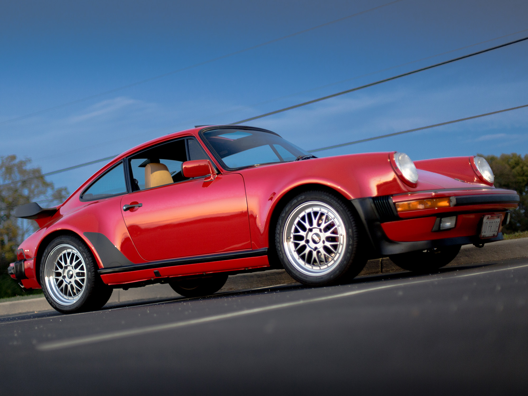 1988 Porsche 911 Turbo Coupe in Guards Red