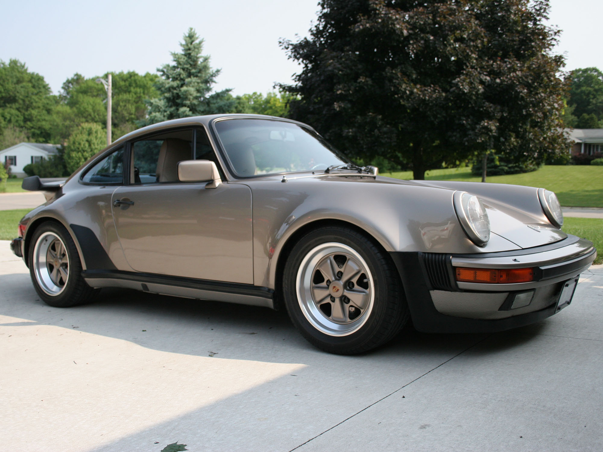 1984 Posche 911 Factory Turbo Look Coupe
