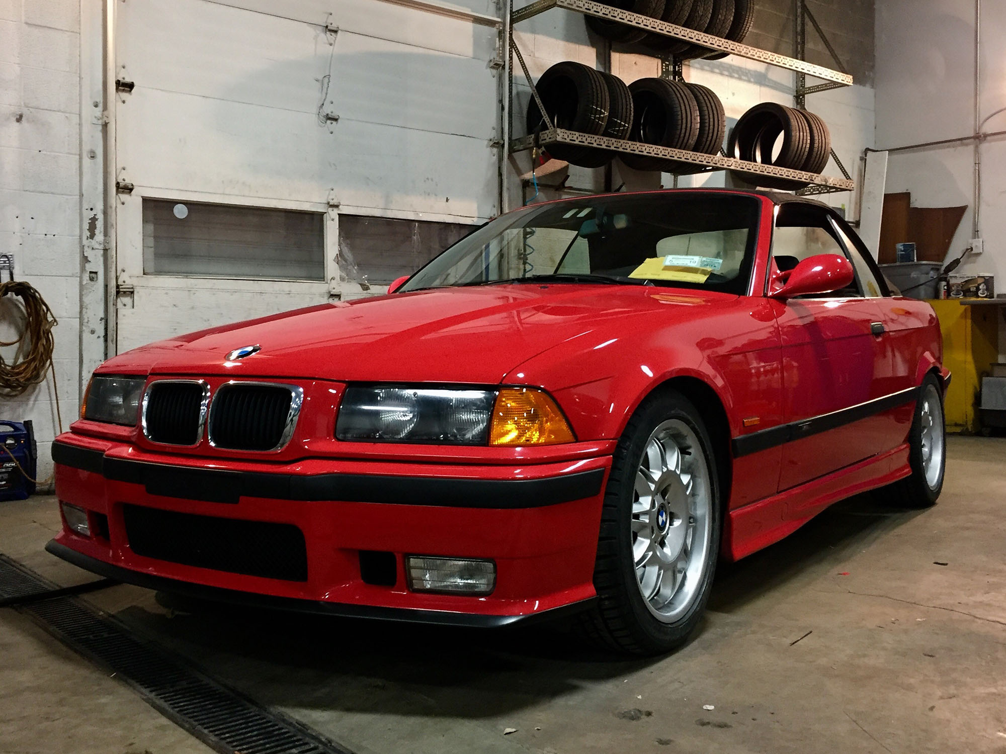 1997 BMW M3 Convertible in Hellrot