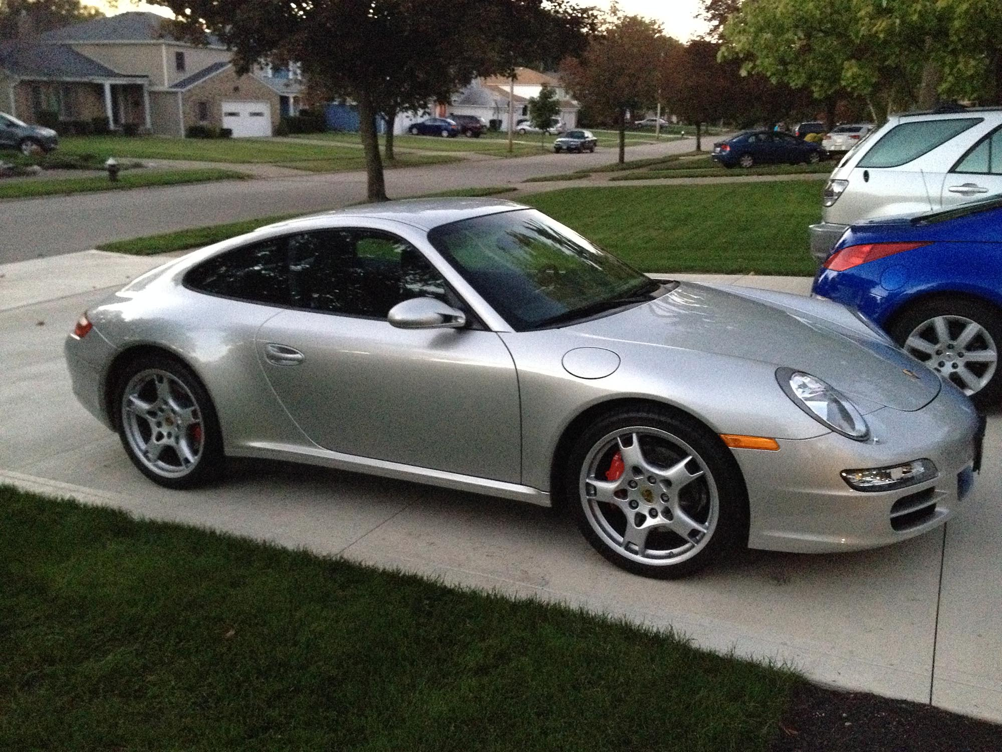 2007 Porsche 911 Carrera 4S Coupe