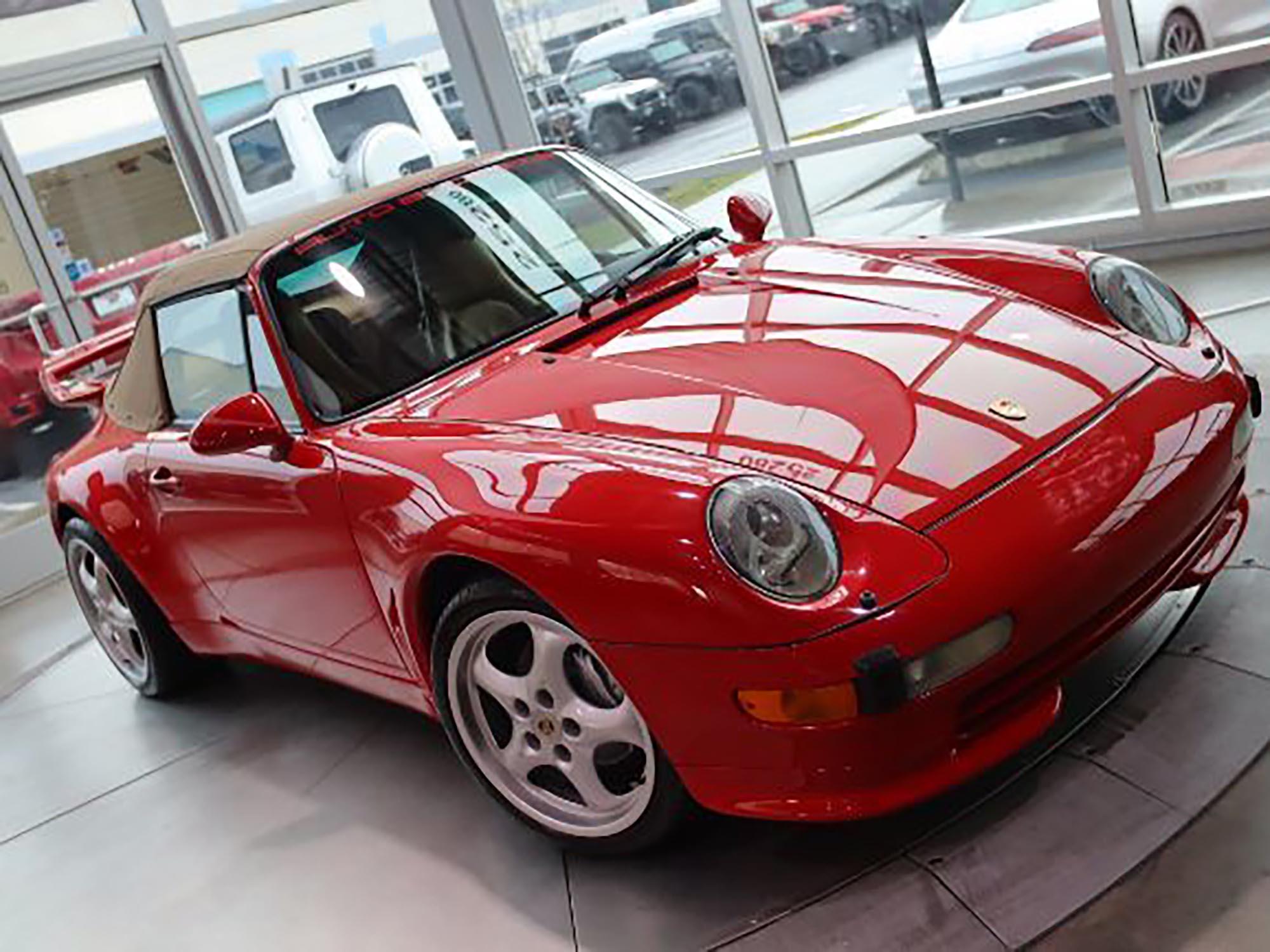 1997 Porsche 911 C4 Cabriolet