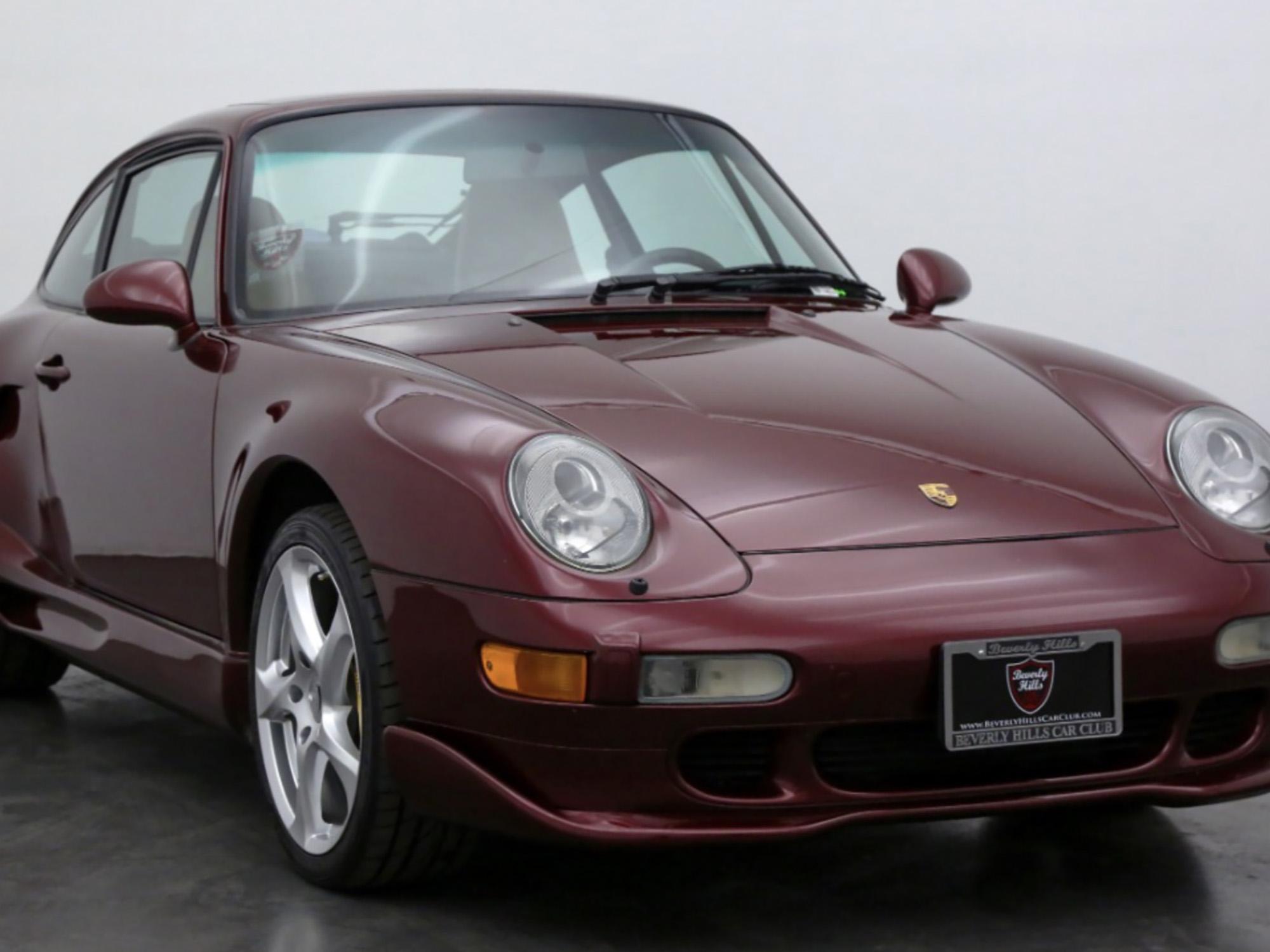 1996 Porsche 911 Carrera 4 Coupe