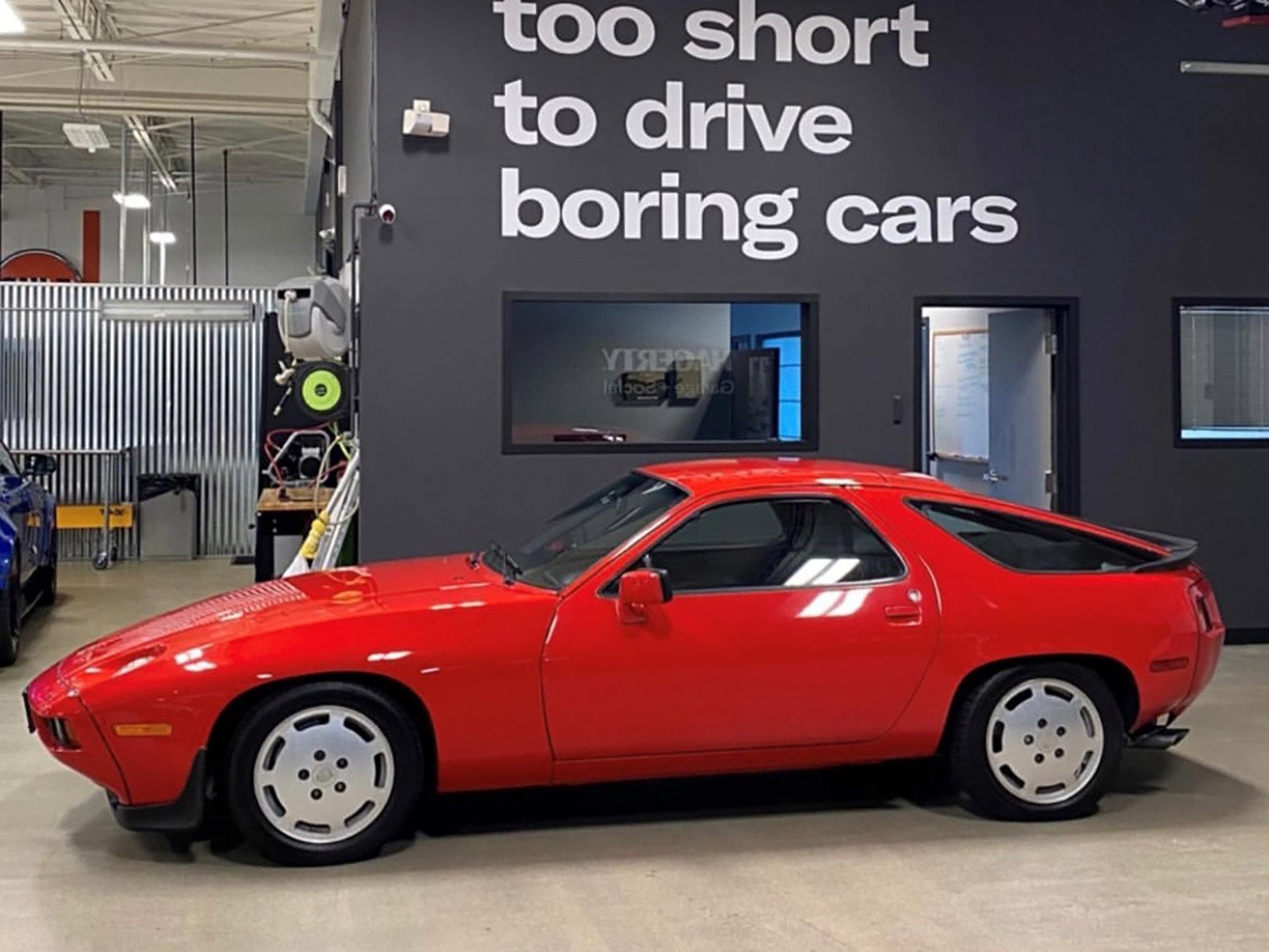 1986 Porsche 928S Coupe