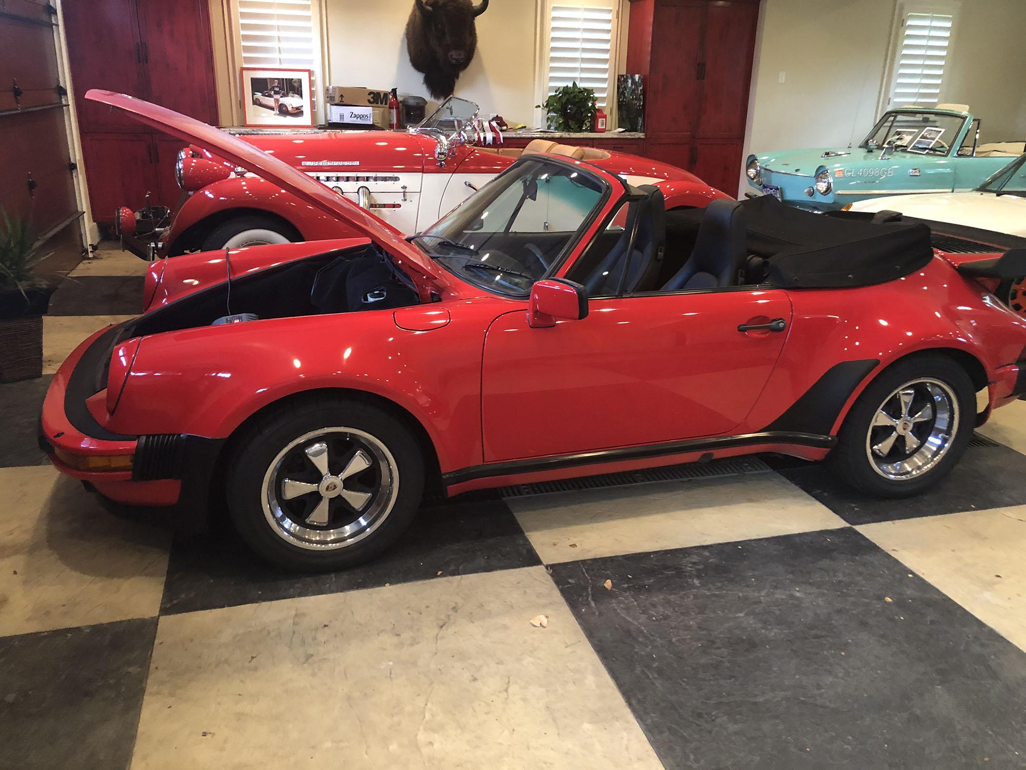 1986 Porsche 911 Turbo Look Cabriolet