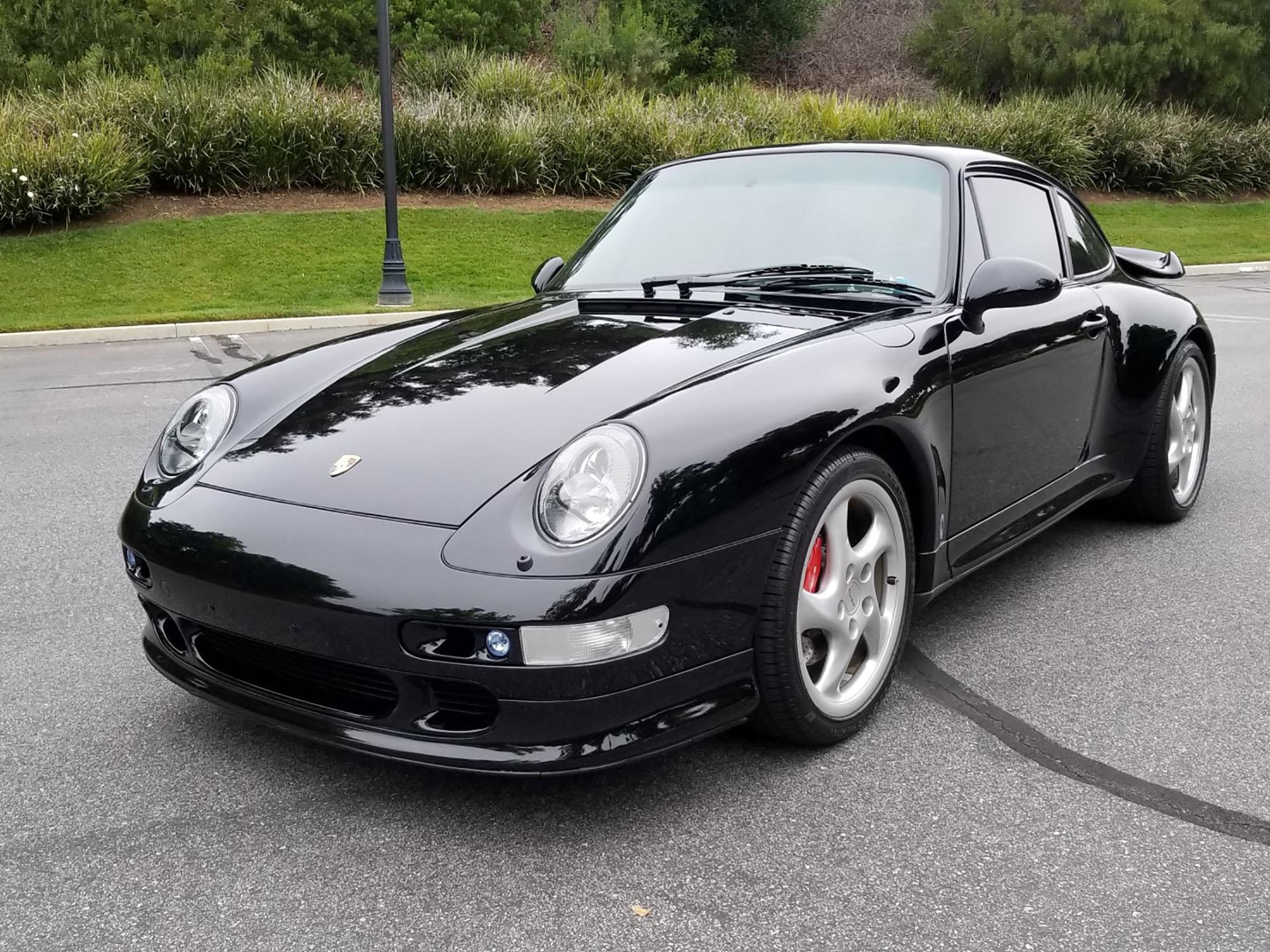 1996 Porsche 911 Carrera 4S Coupe in Black