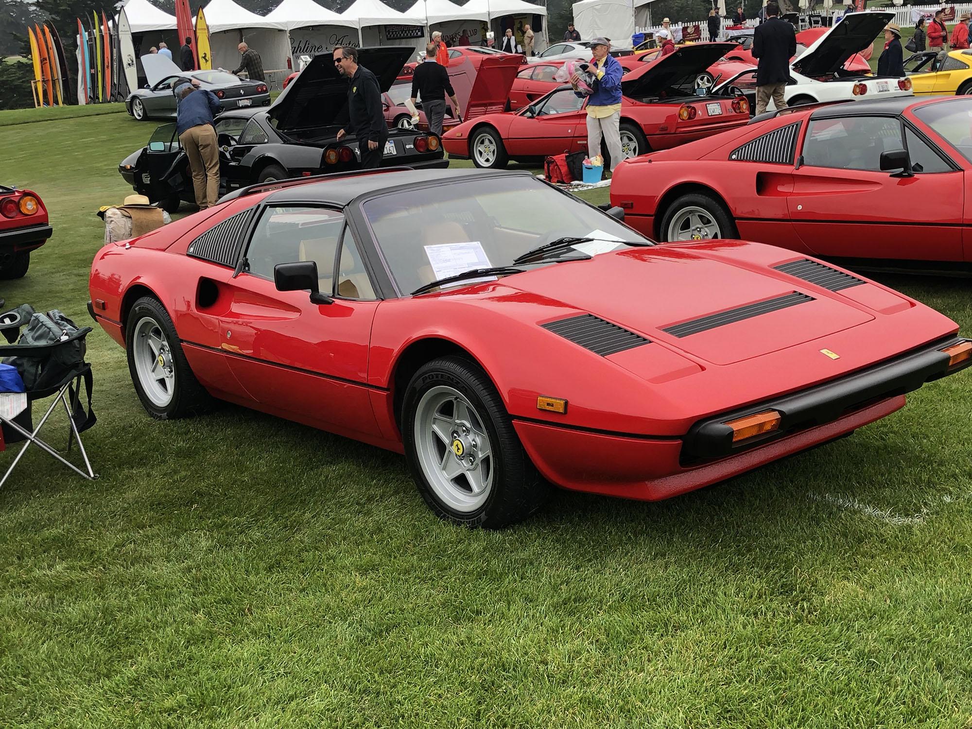 1983 Ferrari 308 GTSi in Red