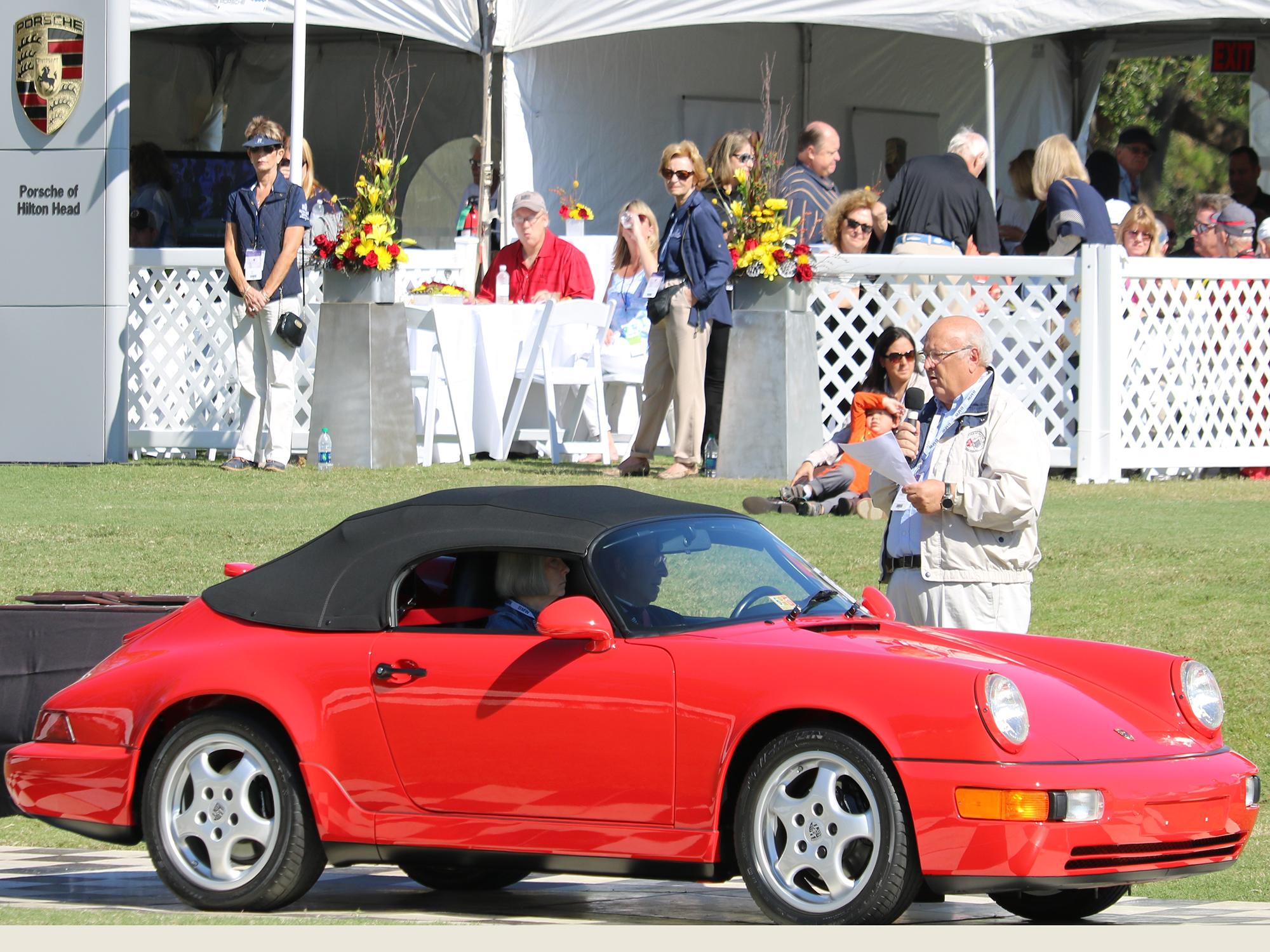 1994 Porsche 911 Speedster in Guards Red