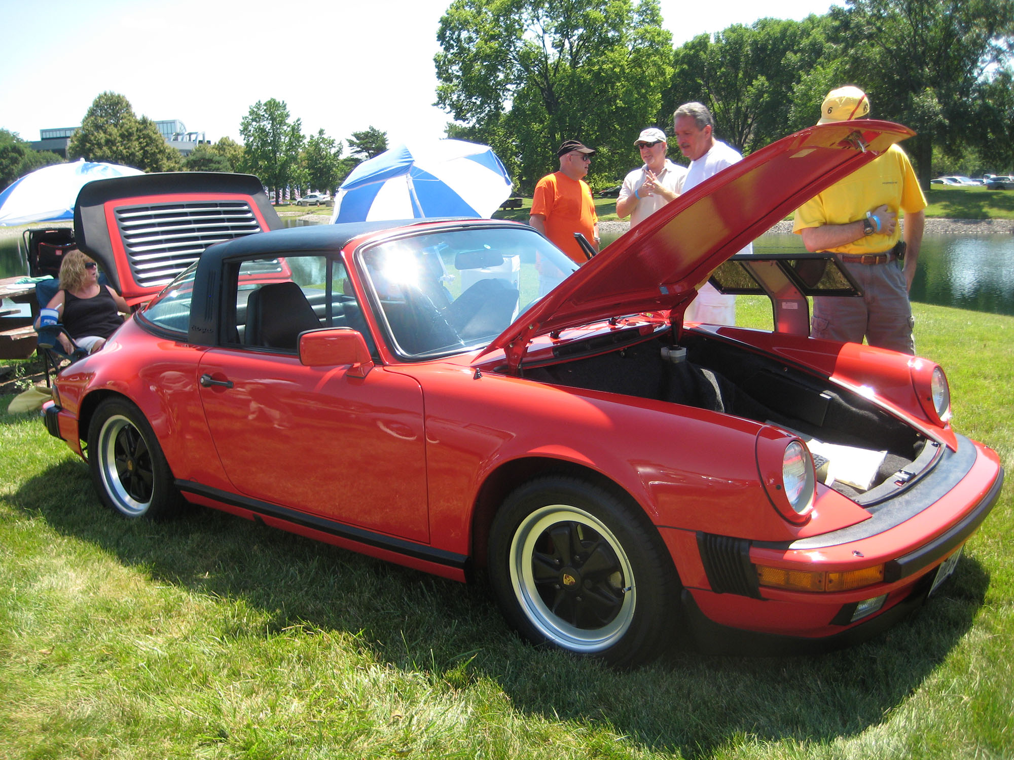 1984 Porsche 911 Targa in Guards Red