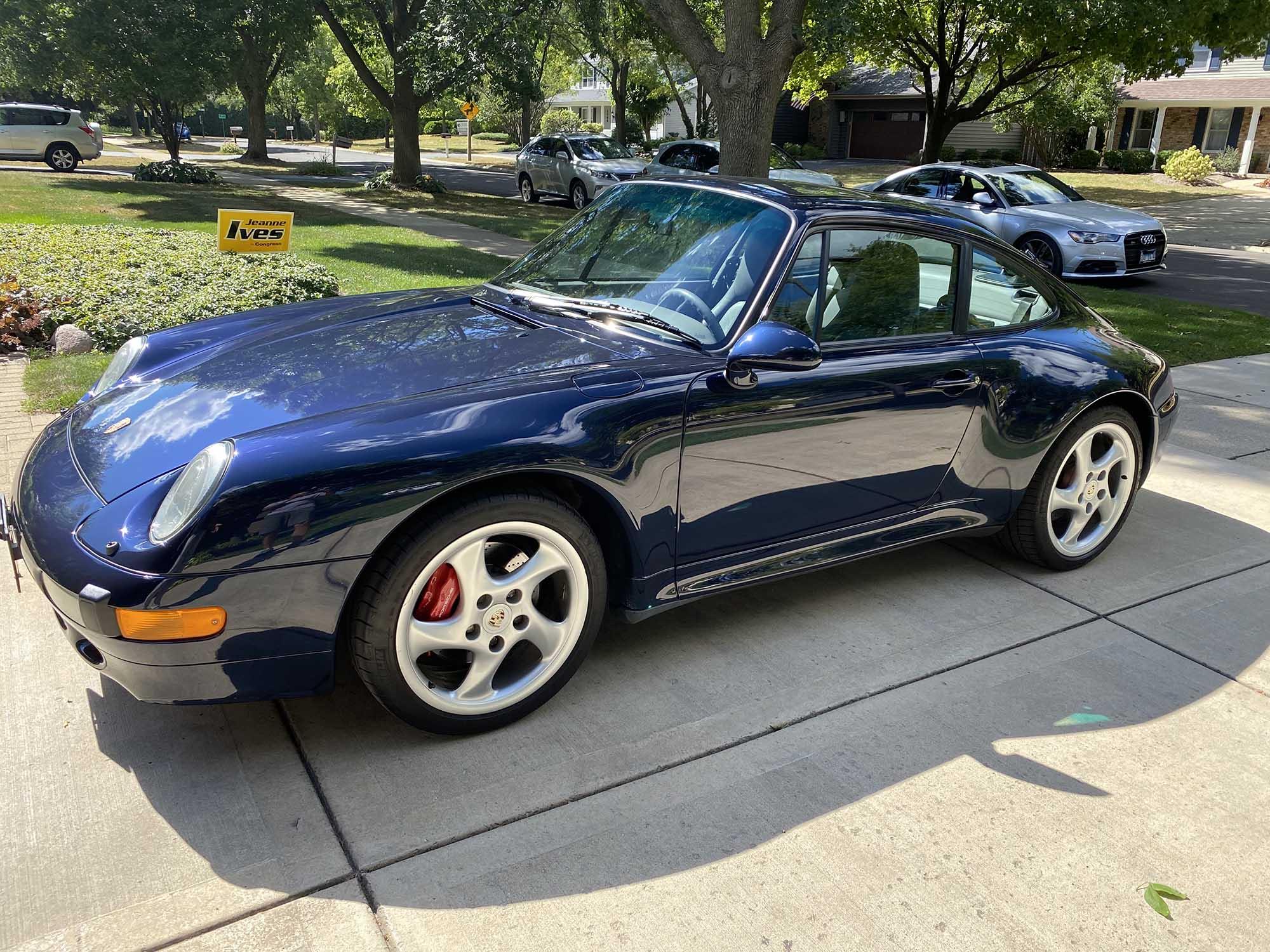 1996 Porsche 911 Carrera 4S Coupe